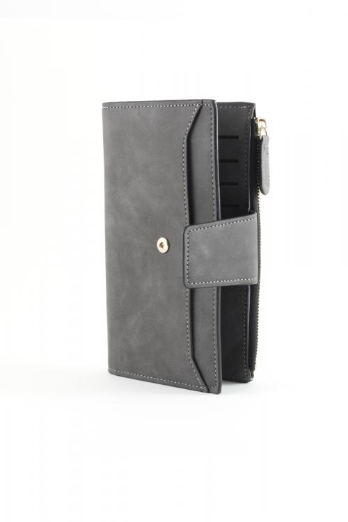 Компактно дамско портмоне в цвят   black