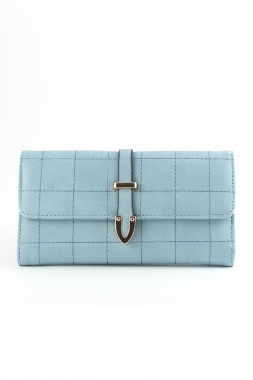 Дамско портмоне в цвят light blue