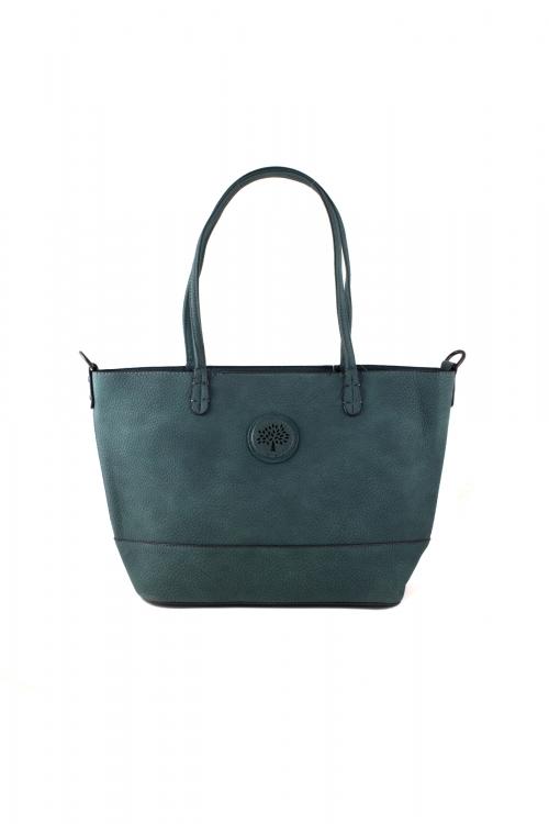 Ежедневна чанта 2 в 1 в зелен цвят