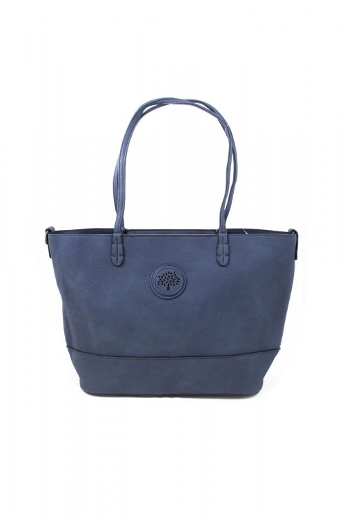 Ежедневна чанта 2 в 1 в тъмно-син цвят